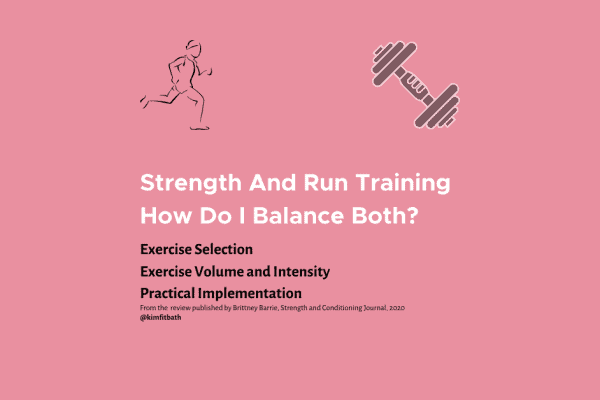 Running And Strength Training